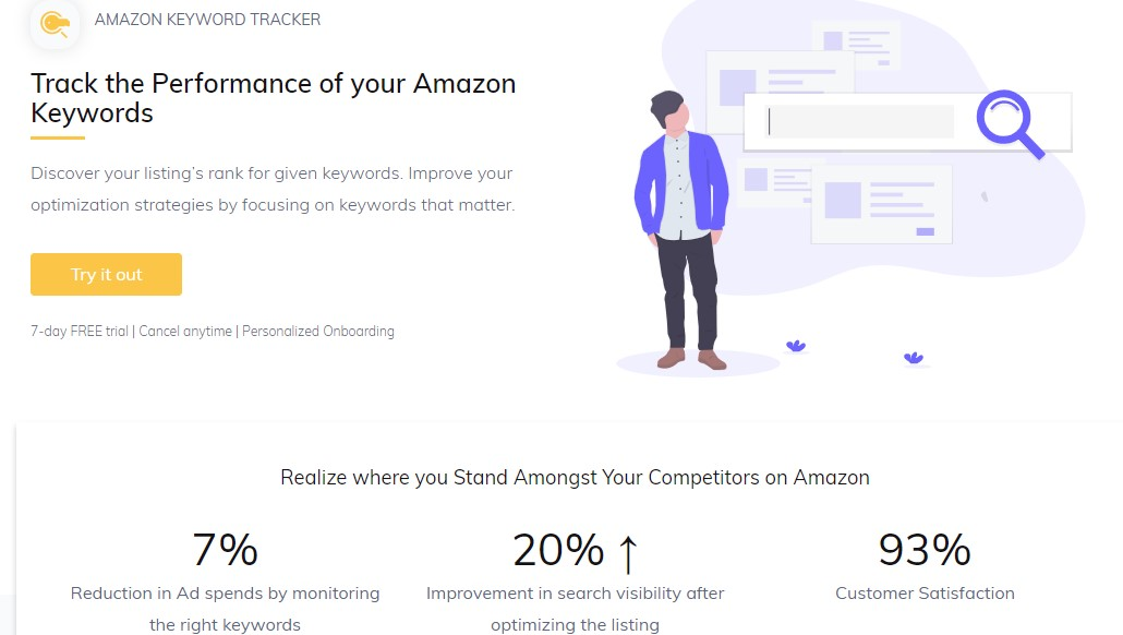amazon keyword tracker
