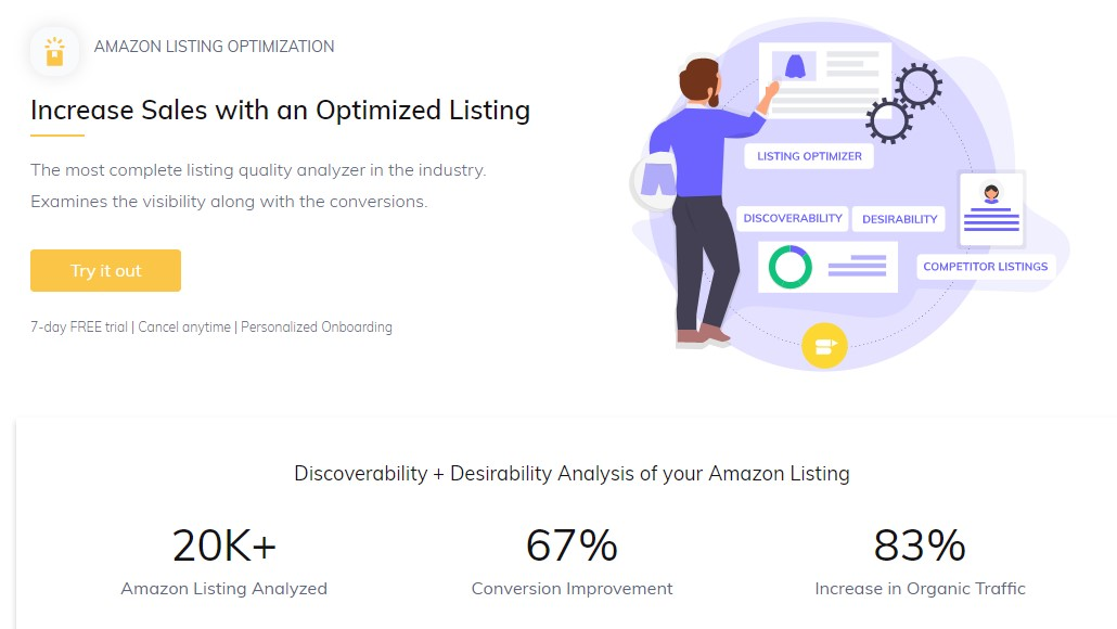 amazon listing optimization tool